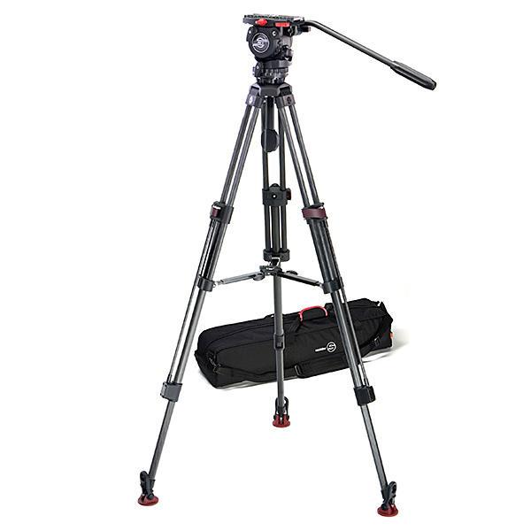 環球影視-Sachtler 0475 FSB 6 SL MCF 專業錄影碳纖維三腳架組 8kg