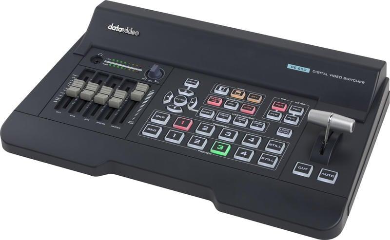 【環球影視】Datavideo 洋銘科技 SE-650 4通道導播機 全球熱銷款 導播機首選品牌!行銷歐美全世界