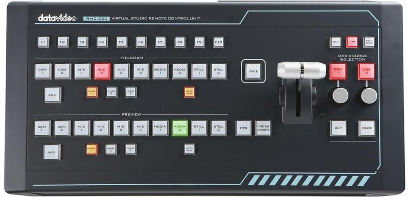【環球影視】Datavideo 洋銘科技 TVS-1000A 虛擬棚導播系統