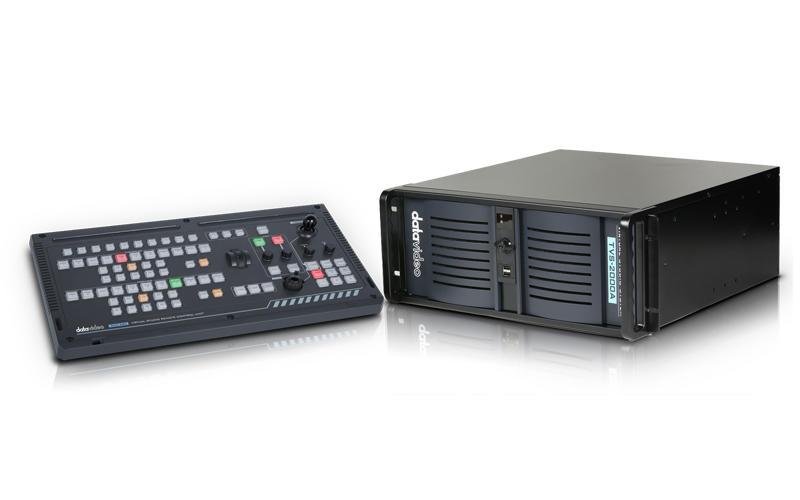 【環球影視】Datavideo 洋銘科技 TVS-2000A 追蹤虛擬棚導播系統