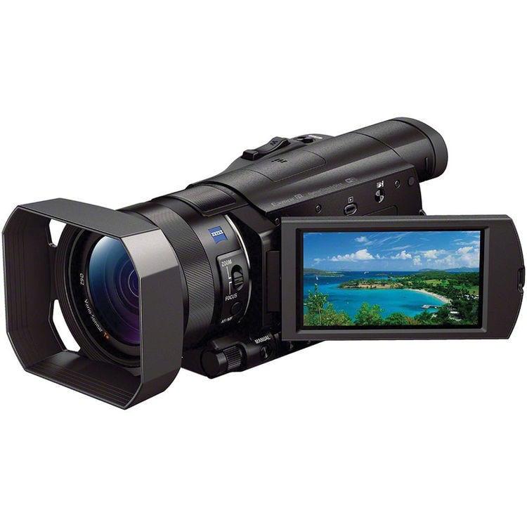 【環球影視】SONY FDR-AX100 數位攝影機 公司貨 4K HDR錄製 1 吋 Exmor RS 蔡司鏡頭