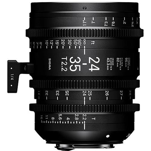 環球影視-SIGMA 24-35 T2.2 FF 電影鏡頭