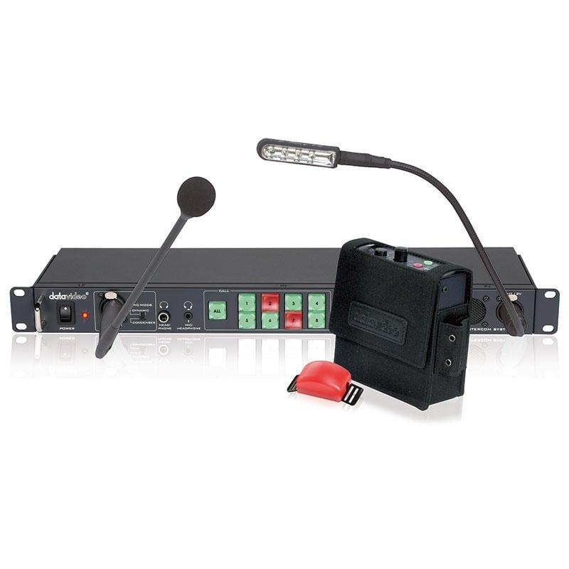 【環球影視】Datavideo 洋銘科技 ITC-100 導播通話系統