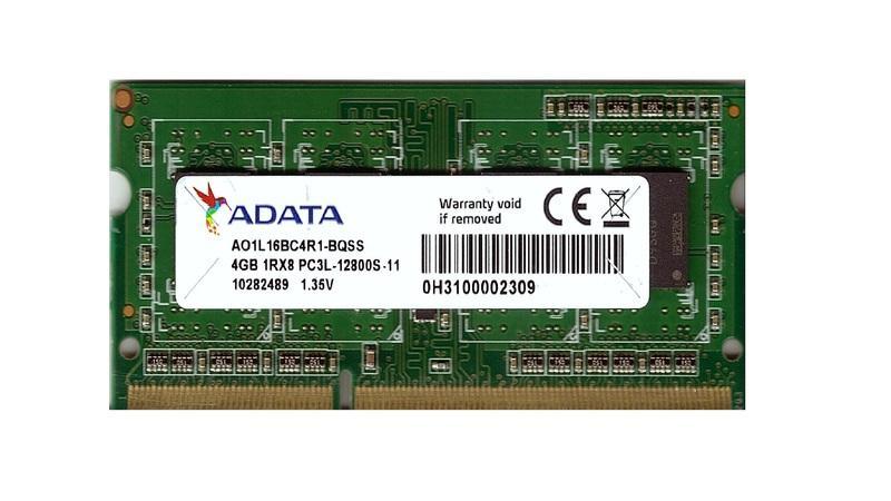 [記憶猶新] 記憶體專賣-威剛-A-data-4G-DDR3-1600 單面 SODIMM 筆電用 原廠終保