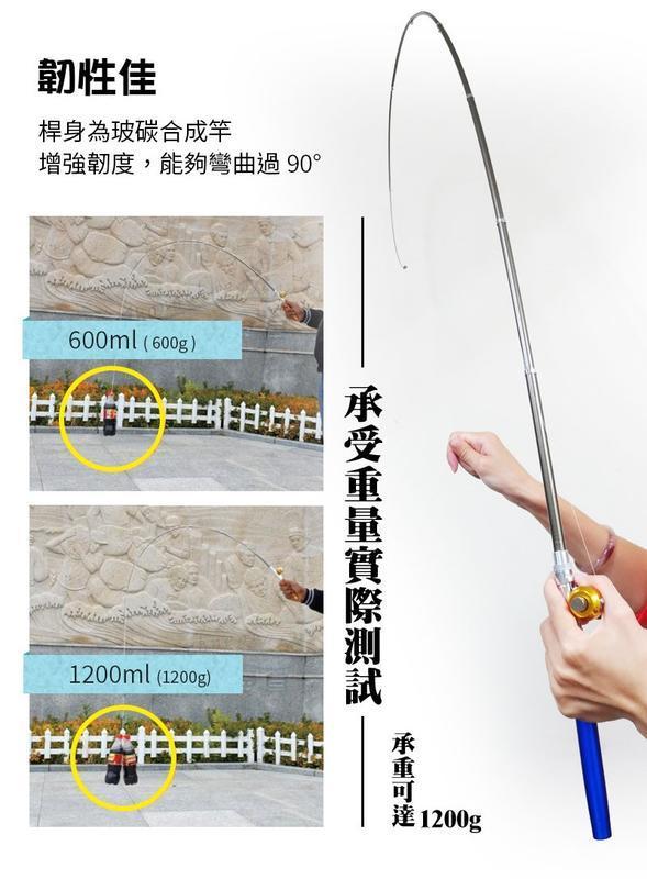 【現貨釣客強推款】1.6米鼓式輪 鋼筆釣竿 金屬捲線器 小釣手 迷你釣竿釣蝦竿釣魚釣魚線浮漂溪釣海釣魚竿【HAS7B1】