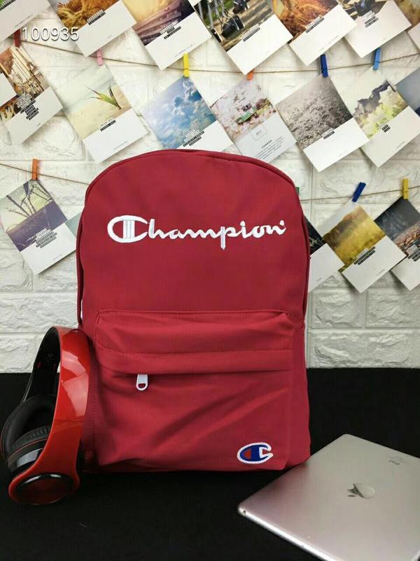 Champion/冠軍 日版兒童拼接雙肩背包休閑單肩斜挎後背包