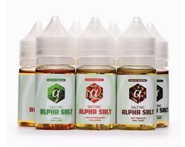 鹽選小煙會館 阿爾法 七種味道 鹽油 香精50%30ML