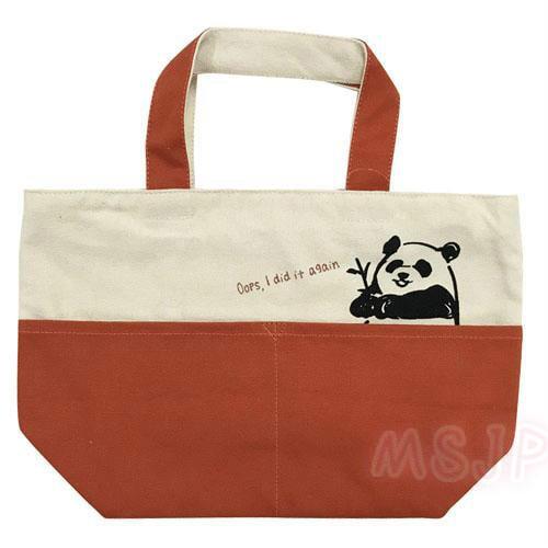 ❤《☀MSinJP 日本 預購 熊貓 企鵝 柴犬 造型 迷你 手提袋 手提包 便當袋~🌸✌》