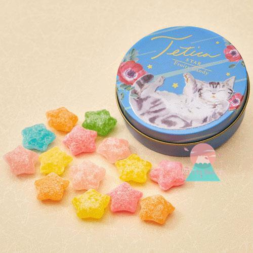 ❤《☀MSinJP 日本 預購 限量包裝 貓咪 圓盒 綜合 繽紛 水果糖 糖果 包裝 都超美der~🌸✌》