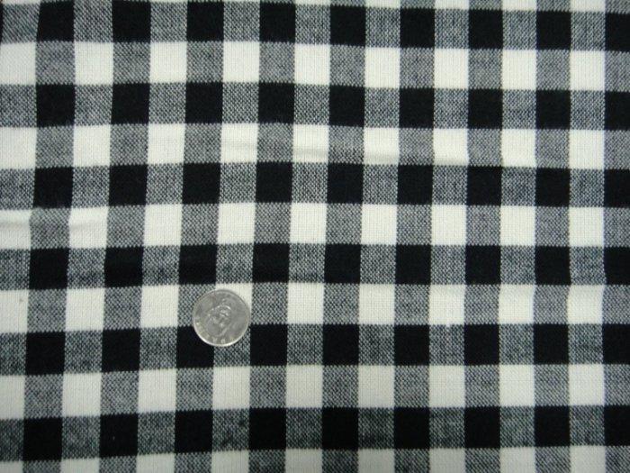 (10呎特價300元)【CANDY的家】布料布飾拼布批發零售--精選布料CA-646☆☆秋冬黑白格套裝裙褲料☆☆