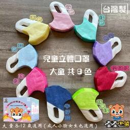 寶貝生活館  現貨 (大童)NANA奈奈小熊 兒童立體(3D)口罩 台灣製 兒童立體口罩(盒裝) 小臉女成人