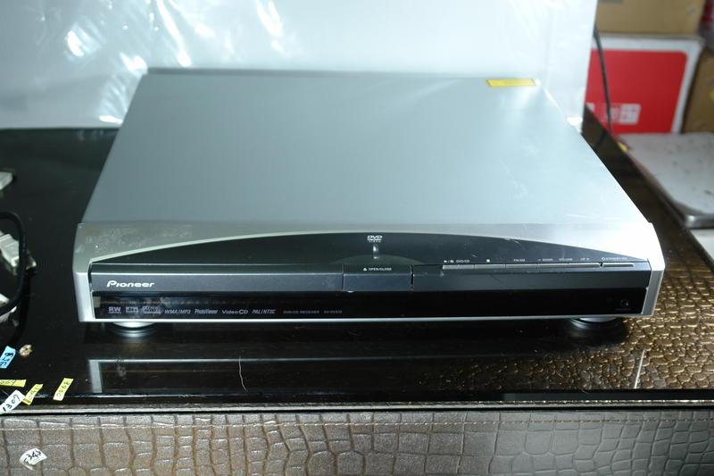 pioneer DVD/CD RECEIVER XV-DV313 DVD放影機 擴大機  缺輸出線 缺遙控器