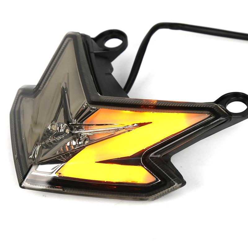 龍騎士 Kawasaki 川崎 Z800 Z125直上改裝LED尾燈含方向燈