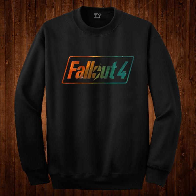 fallout輻射4游戲周邊PS4衛衣套頭男長袖薄款學生秋季青少年衣服