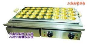 ♤名誠傢俱辦公設備冷凍空調餐飲設備♤電力式紅豆餅機32孔 車輪餅