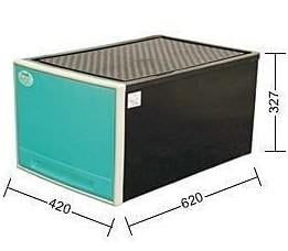 聯府 KEYWAY 65L抽屜整理箱 2色 收納箱//單層櫃 CKB899