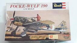 [中古良品] Revell 1:72 二戰德國 Focke-Wulf 190 戰鬥機
