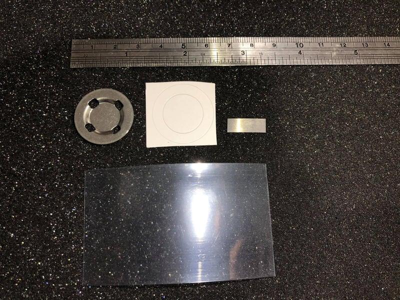 26650 電池 鋰電池 鋰鐵電池 改凸點(平頭) 套件 不鏽鋼