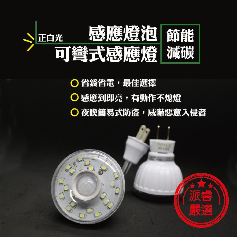 一年保固+公司貨+台灣製造+節能省電【23顆高亮度節能LED人體感應燈】感應燈/燈泡【LD007】