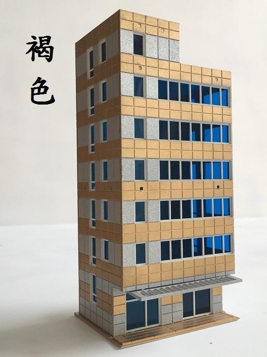 [熊貓] 1/144 全彩塗裝+門窗裝飾 精緻6樓商辦/公寓