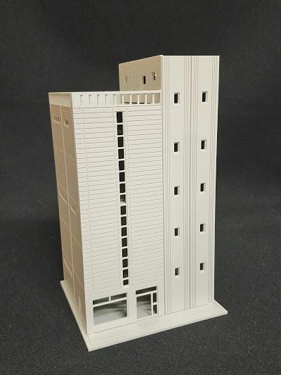 [熊貓] N規 1/144 組裝模型 日式 市區 購物中心 百貨公司 大樓 模型 建築