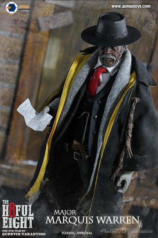 [Asmus Toys 官方賣場] H802 八惡人 1/6 12吋  華倫少校 山謬傑克森