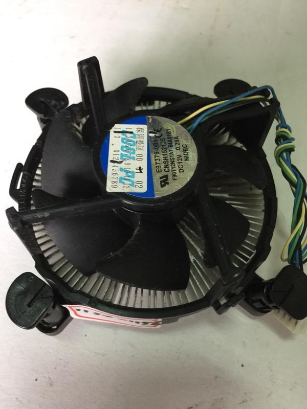 主機板775風扇散熱器1個$100