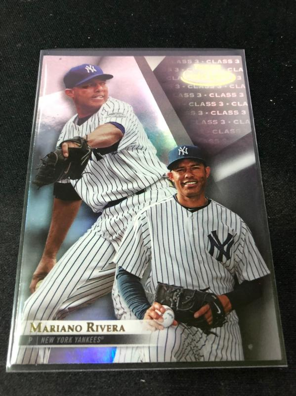 Mariano Rivera #74 class 3 2018 Topps Gold Label