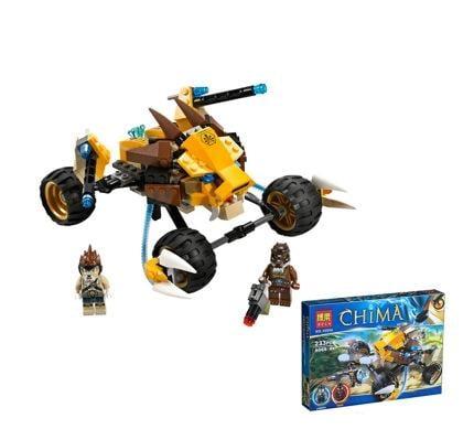 益智博樂兒童爆款益智時尚拼裝積木玩具 赤馬氣功傳奇系列靈獅洛出擊10054