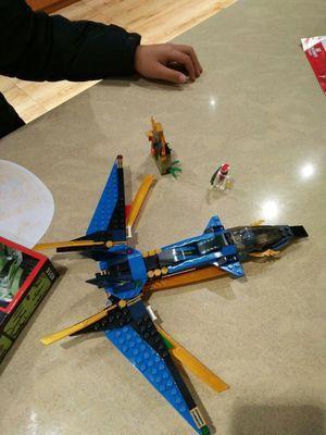 可代發博樂益智幻影忍者系列9756益智 拼插積木玩具 杰的風暴戰斗