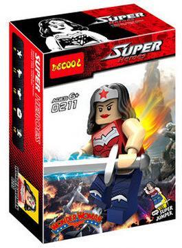 得高0211-0216復仇者聯盟2積木變異超人綠箭俠拼插積木