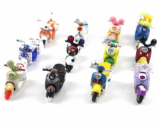 『摩托車』多美卡TOMICA米奇多美摩托車合金車機車迪士尼唐老鴨米妮小汽車玩具車兒童模型迪士尼