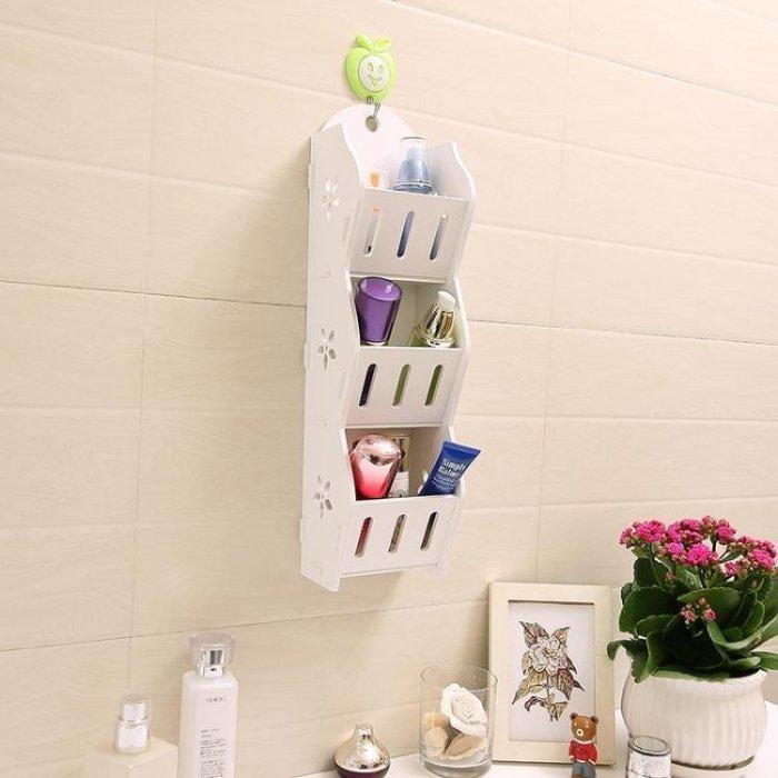 免打孔浴室用品架子多層置物架廁所儲物架衛生間掛架墻壁掛收納架
