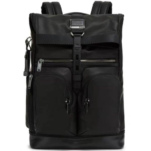 正品新款原廠 TUMI/途米 JK433 男女款 休閒商務雙肩包 進口真皮牛皮 旅行後背包 電腦包 內置21寸筆記本隔層