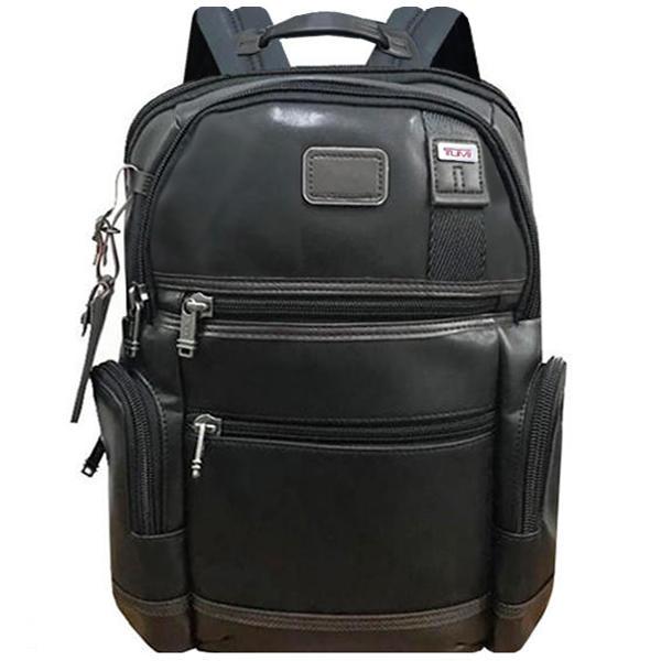 正品新款原廠 TUMI/途米 JK072 男女款全牛皮真皮時尚商務電腦雙肩包大容量休閒旅行後背包可容納15寸電腦