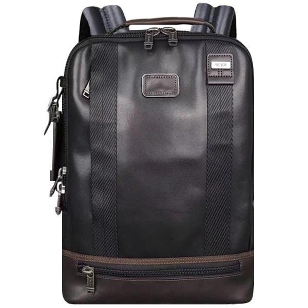 正品新款原廠 TUMI/途米 JK113 男女款 商務電腦包後背包 時尚休閒雙肩包 大容量旅行運動背包 牛皮真皮