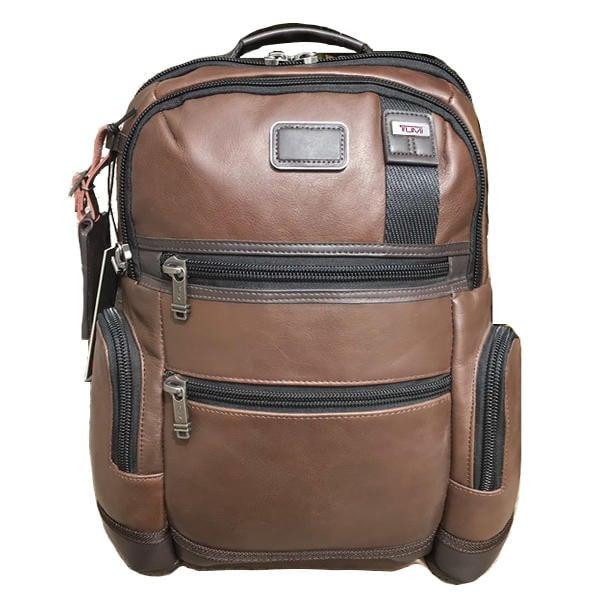 正品新款原廠 TUMI/途米 JK071 男女款全牛皮真皮時尚商務電腦雙肩包大容量休閒旅行後背包可容納15寸電腦