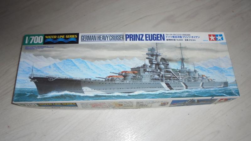 TAMYIA田宮#31805 德海軍重巡洋艦PRINZ EUGEN