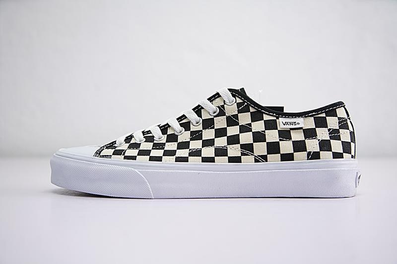Vans Sixty Seven 67 男女鞋 米白黑 棋盤黑白 包頭 復古 帆布鞋 休閒鞋