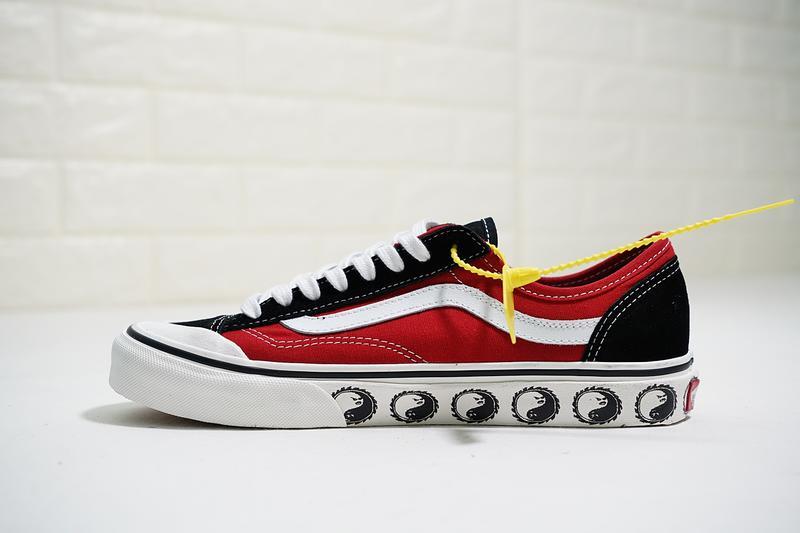 Vans Style 36 Decon SF 男女鞋 黑紅白 太極 半包頭 舒適 帆布鞋 休閒鞋