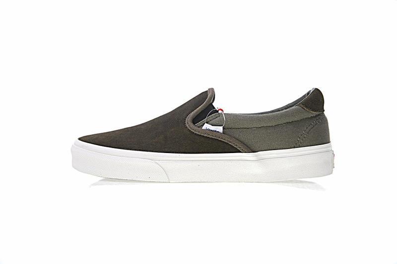 Vans Vault UA OG Slip-On 59 LX 男女鞋 橄欖綠 百搭 帆布 懶人鞋 休閒鞋 VA38FZN