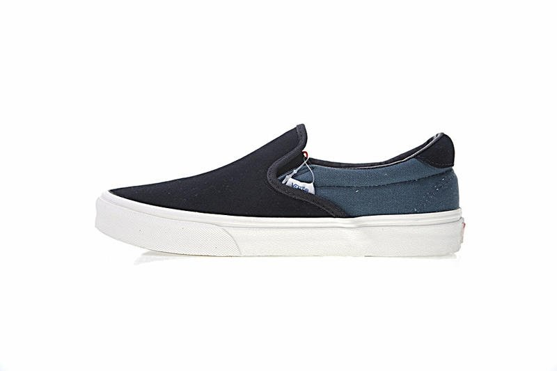 Vans Vault UA OG Slip-On 59 LX 男女鞋 黑藍 百搭 帆布 懶人鞋 休閒鞋 VA38FZN9