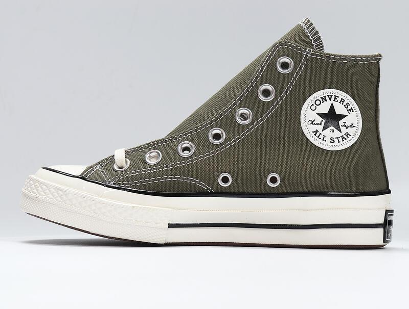 Converse 1970S Chuck Taylor All Star 三星標 高筒 帆布鞋 休閒鞋 男女鞋 橄欖綠