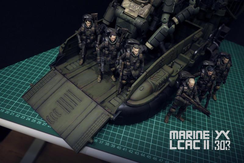 酸雨戰爭 303 海陸LCAC II 兩棲登陸氣墊艇