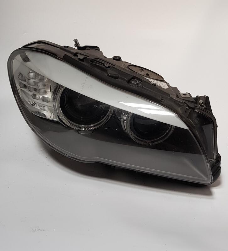 BMW 5系列小改款前 F10大燈 空件 原廠拆車件
