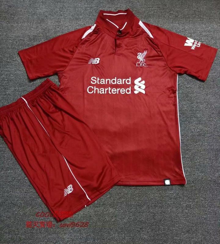 18/19球季英超Liverpool 利物浦 主場 紅色 9號20號11號 SALAH  球衣成人足球衣足球服短袖套裝