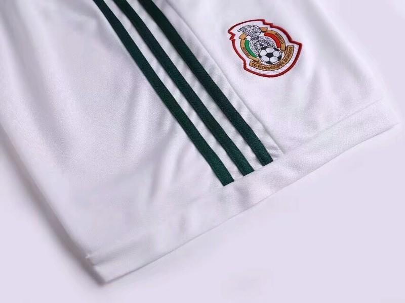 2018世界杯墨西哥足球隊服主場短袖球衣adidas阿根廷德國西班牙阿森納足球服男套裝夏季短袖運動球衣訓練服