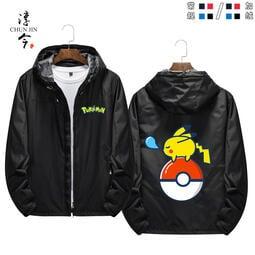 【思思小鋪】寶可夢寵物小精靈動漫周邊精靈球卡通可愛秋冬加絨夾克外套上衣服