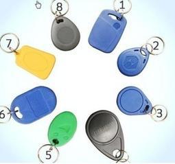 批發價$5元起 門禁磁扣 門禁扣 感應扣 感應磁扣 IC扣 RFID【IC】卡Mifare 13.56MHz 悠遊卡型