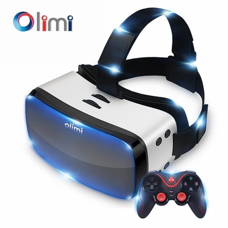VR一體機虛擬現實3D眼鏡安卓4G運行智慧2K遊戲頭盔高清ar影院